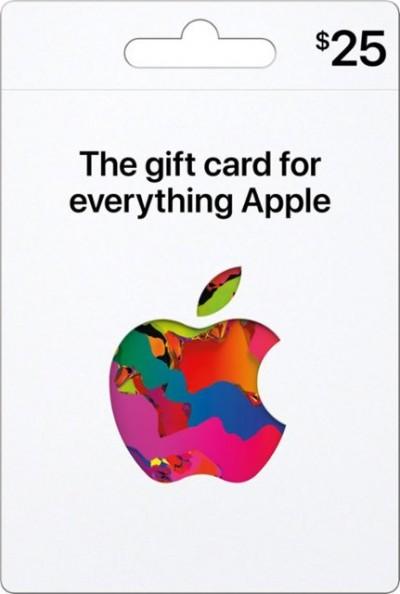 APPLE $25 Gift Card