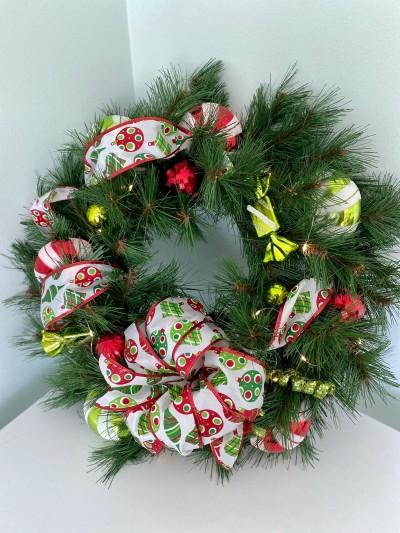 CHRISTMAS WREATH by Laura Marino